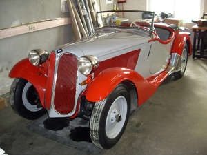Oldtimer BMW 315 Roadster 1